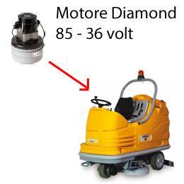 DIAMOND 85 36 volt Saugmotor AMETEK für scheuersaugmaschinen Adiatek