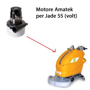 JADE 55 24 volt Saugmotor AMETEK für scheuersaugmaschinen Adiatek