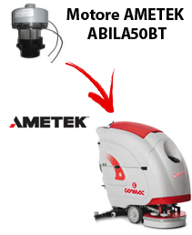 ABILA 50BT Saugmotor AMETEK für scheuersaugmaschinen Comac