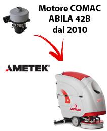 ABILA 42B Saugmotor AMETEK für scheuersaugmaschinen 2010 (von der Seriennummer 113002718) Comac