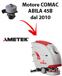 ABILA 45B 2010 Saugmotor AMETEK für scheuersaugmaschinen Comac (von der Seriennummer 113002718)