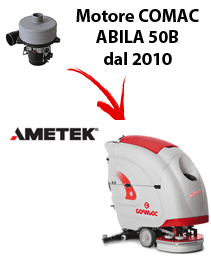ABILA 50B 2010 Saugmotor Ametek für scheuersaugmaschinen Comac (von der Seriennummer 113002718)