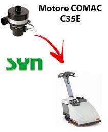 C35 und SYNCLEAN Saugmotor für scheuersaugmaschinen Comac