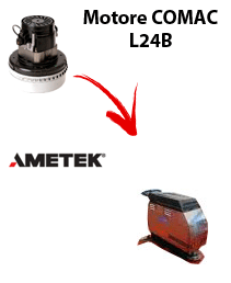 L 24B Saugmotor AMETEK für scheuersaugmaschinen Comac
