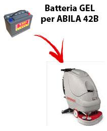 ABILA 42B Batterie für scheuersaugmaschinen COMAC