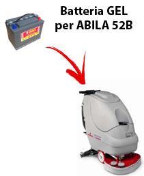 ABILA 52B Batterie für scheuersaugmaschinen COMAC