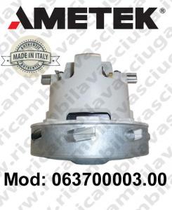 063700003.00 Saugmotor AMETEK ITALIA für scheuersaugmaschinen und Staubsauger
