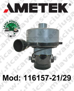 116157-21/29 Saugmotor LAMB AMETEK für scheuersaugmaschinen