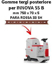 INNOVA 55 B Hinten Sauglippen für scheuersaugmaschinen COMAC