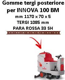 INNOVA 100 BM Hinten Sauglippen für scheuersaugmaschinen COMAC