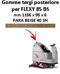 FLEXY 85 BS Hinten Sauglippen für scheuersaugmaschinen COMAC