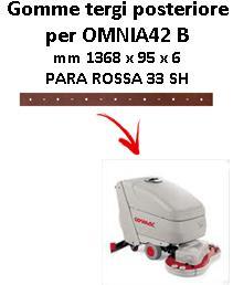 OMNIA 42 B Hinten Sauglippen für scheuersaugmaschinen COMAC