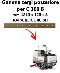 C 100 B Hinten Sauglippen für scheuersaugmaschinen COMAC