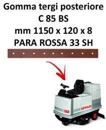 C 85 BS Hinten sauglippen für scheuersaugmaschinen COMAC