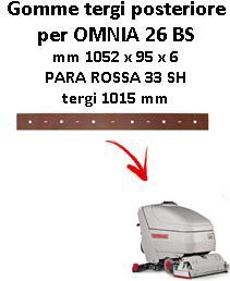 OMNIA 26 BS Hinten sauglippen für scheuersaugmaschinen COMAC