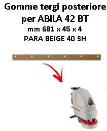 ABILA 42 BT Hinten sauglippen für scheuersaugmaschinen COMAC