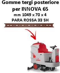 INNOVA 65 Hinten sauglippen für scheuersaugmaschinen COMAC
