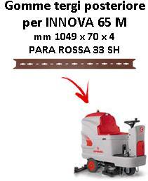 INNOVA 65 M Hinten sauglippen für scheuersaugmaschinen COMAC
