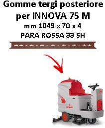 INNOVA 75 M Hinten sauglippen für scheuersaugmaschinen COMAC