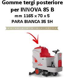 INNOVA 85 B Hinten sauglippen für scheuersaugmaschinen COMAC
