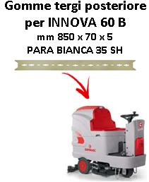 INNOVA 60 B Hinten sauglippen für scheuersaugmaschinen COMAC