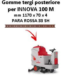 INNOVA 100 M Hinten sauglippen für scheuersaugmaschinen COMAC