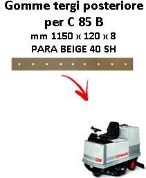 C 85 B Hinten sauglippen für scheuersaugmaschinen COMAC