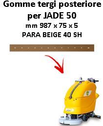 JADE 50 Hinten sauglippen für scheuersaugmaschinen ADIATEK