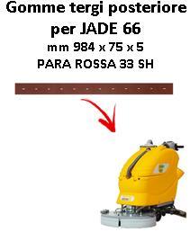 JADE 66 Hinten sauglippen für scheuersaugmaschinen ADIATEK