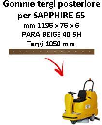 SAPPHIRE 65 Hinten sauglippen für scheuersaugmaschinen ADIATEK