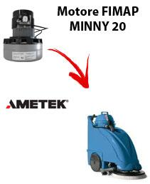 MINNY 20 Saugmotor Ametek für scheuersaugmaschinen FIMAP