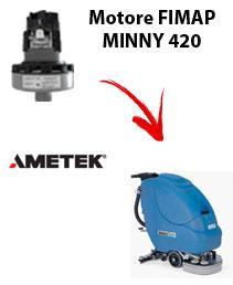 MINNY 420 Saugmotor Ametek für scheuersaugmaschinen FIMAP