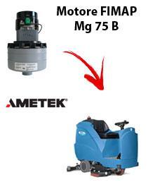 Mg 75 B Saugmotor Ametek für scheuersaugmaschinen FIMAP
