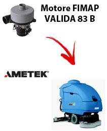 gültig 83 B Saugmotor Ametek für scheuersaugmaschinen FIMAP