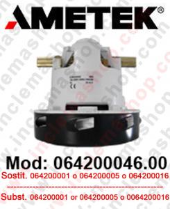 064200046.00 Saugmotor AMETEK  für scheuersaugmaschinen und staubsauger