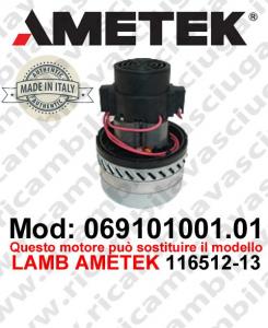 069101001.01 Saugmotor AMETEK ITALIA für scheuersaugmaschinen