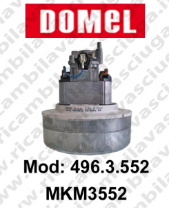 496.3.552 MKM3552 Saugmotor DOMEL für Staubsauger