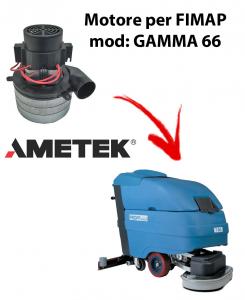 GAMMA 66 Saugmotor AMETEK ITALIA für scheuersaugmaschinen FIMAP