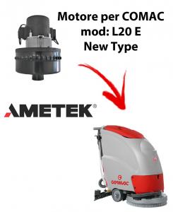 L20E New Type MOTEUR ASPIRATION AMETEK autolaveuses Comac