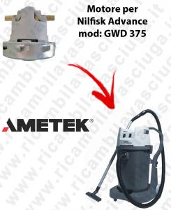 GWD 375 Saugmotor AMETEK für Staubsauger NILFISK ADVANCE