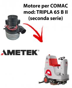 TRIPLA 65B II MOTEUR ASPIRATION AMETEK ITALIA pour autolaveuses Comac