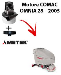 OMNIA 28 - 2005 VERSION MOTEUR ASPIRATION AMETEK autolaveuses Comac