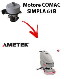 SIMPLA 61B MOTEUR ASPIRATION AMETEK autolaveuses Comac