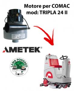 TRIPLA 24 II MOTEUR ASPIRATION AMETEK pour autolaveuses Comac