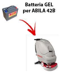BATTERIE pour ABILA 42B autolaveuses COMAC