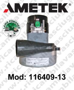 MOTEUR ASPIRATION 116409-13 LAMB AMETEK pour autolaveuses