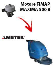 MAXIMA 500 B  MOTEUR ASPIRATION AMETEK autolaveuses Fimap