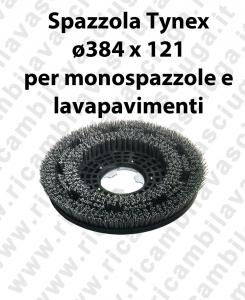 Bürsten in TYNEX ø384 X 121 für mono Bürsten und Scheuersaugmaschinen SYNCLEAN