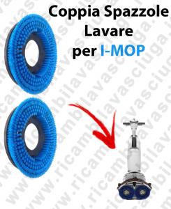 Paar Bürsten Standard für scheuersaugmaschinen I-MOP