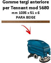 5680 BAVETTE ARRIERE TENNANT Para Beige suceur lungo 700